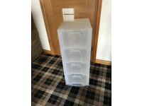 Really Useful 4 Drawer Craft Art Sewing Home Storage Unit Tower Boxes Organiser