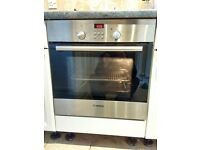 Bosch HBN331.0B Brushed Steel Electric Single Built In Fan Oven.