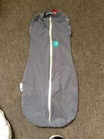 Ergo Cocoon organic sleeping bag and swaddle.
