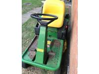 John Deere gx75 ride on mower