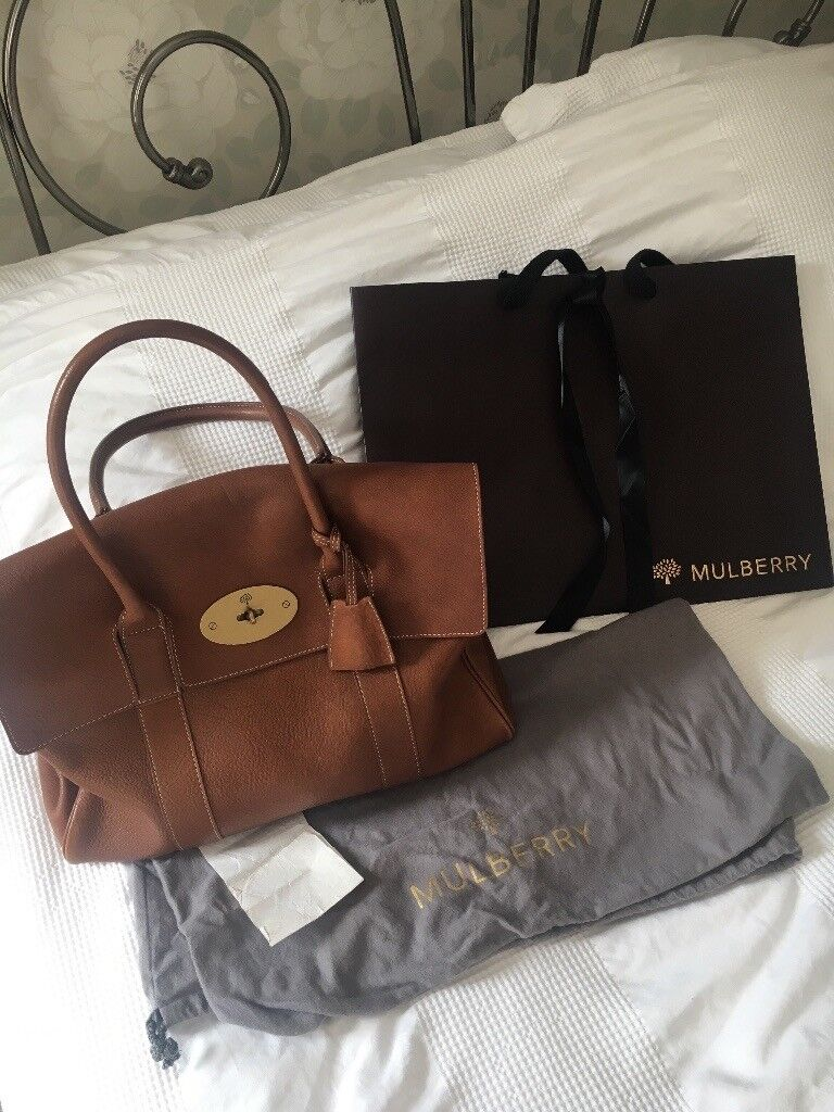 351a3722d6a1 MULBERRY Bayswater natural oak bag - rrp £1095 - genuine with receipt and  bags STUNNING EXAMPLE