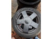 ALLOY WEELS FOR FORD FIESTA
