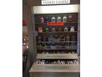 Yankee Candle display units