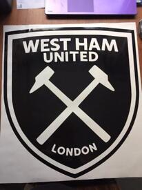West Ham Wall Decal
