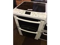 ZANUSSI 60CM ELECTRIC COOKER FAN ASSISTED DOUBLE OVEN206