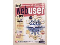 Web User Magazines 1st edition to issue 113