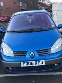 Renault Grand Scenic 1.6 petrol 7 seater family car