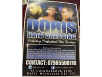 Afro Carribbean Barber required for busy West London hair salon