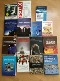 15 Business/Project Management book bundle £20 ono collection only