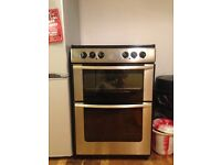 Electric oven with hob and grill