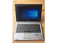 Core i5 2nd Gen HP Elitebook 2560p Laptop, intel HD 3000/ 4gb ddr3. 250gb hdd. windows 10/ MS office