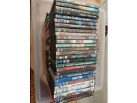 105 DVD's Variety of originals and copies. Collection from Dukinfield