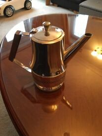 Silver plated coffee pot 1980's