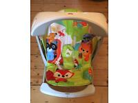 Fisher price Woodlands Friends Take-along swing and seat