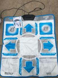 Wii dance mat and game