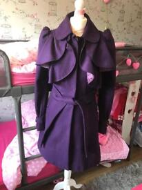 Gorgeous river island coat in excellent condition size 8 / 10 RRP£85