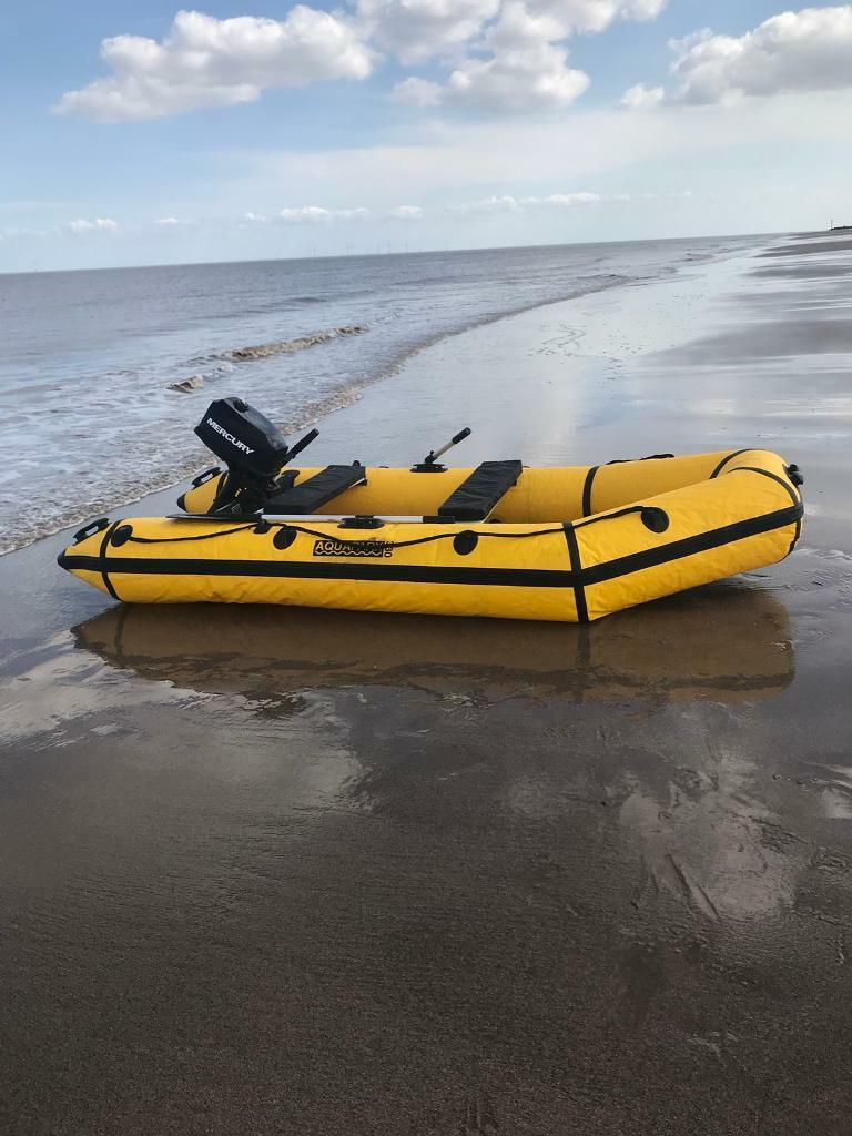 Sports Inflatable Aquaparx Boat 5 Hp 2 Stroke Mercury Outboard Horsepower 4 Model 5hp Engine