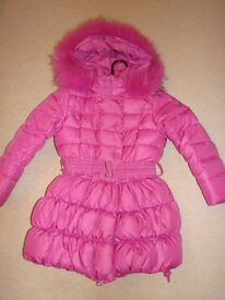 Girls winter jacket age 6