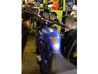 Kawasaki er500 a4 Blue ,2000,mot 6/18.