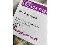 *The Overtones @ Crewe Lyceum Theatre on 3rd June*