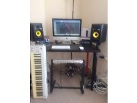 Music Production Tuition & Recording Sessions - Studio Time - Audio Editing