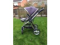 Egg Pram / Stroller / Pushchair with accessories