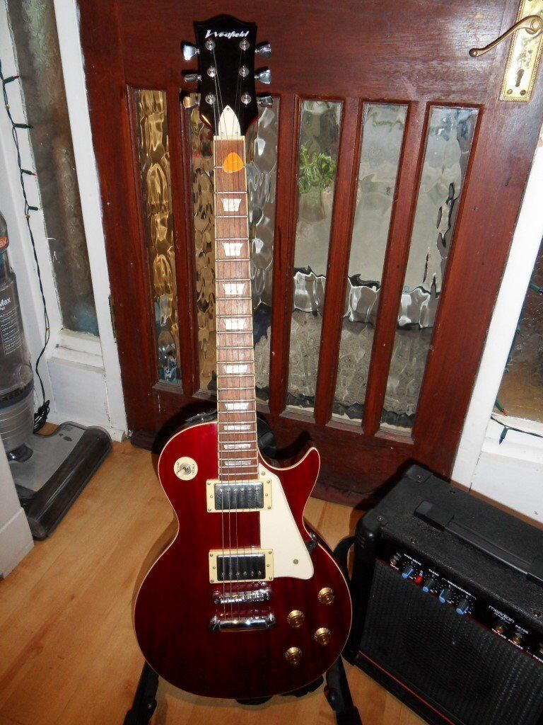 Westfield Les Paul and Meridian Stage Pro Amp