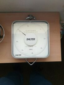 Industrial hanging weighing scales