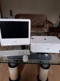 iMac G5 with Canon printer
