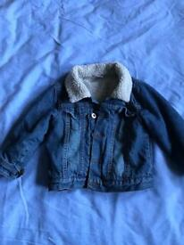 Denim jacket age 18-24 months