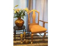 Glitter Gold Chair Upcycled