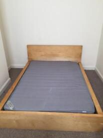 Ikea Double Bed and Matress