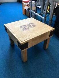 """Coffee table, restored """"shabby chic"""" style"""