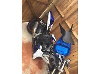 looking for a crashed gsxr 600