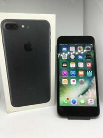 iPhone 7 Plus Matt Black O2