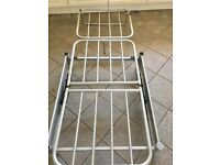 Metal framed chair bed