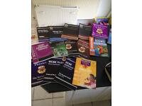 KS2/ KS3 / GCSE / A-level revision books
