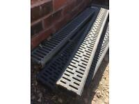 Aco drains, new & used