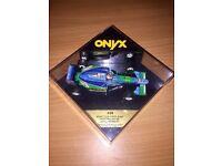 Onyx 209 Benetton Ford B194 Johny HERBERT collectable diecast model car