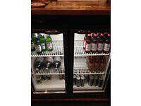 2 bottle fridges