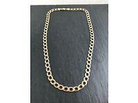 9ct Curb Chain Gold 28.7g