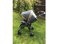 Jane Travel System Pushchair Buggy with Car Seat and Footmuff