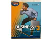 BTEC Level 3 National Business Student Book 1 Edexcel