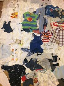 Loads of baby clothes