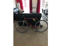 Vintage bike + New Lock