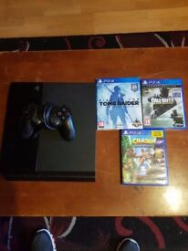 Playstation ps4 games all leads and controler