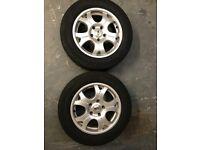 Alloy wheels fit VW T5