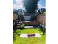 Magic of Vinyasa - small group session in my own oasis of the Stillness of my garden