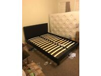 New double bed+ mattress