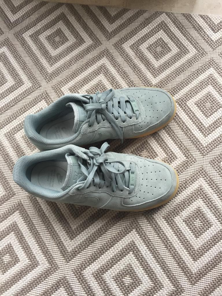 85ceb27fd83 Nike Air Force 1  07 SE Suede Mint Size UK 7